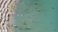 Greece, Rhodes, Lindos beach video