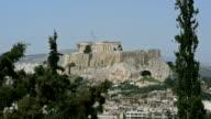 Greek Acropolis in the sunlight video
