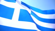Greek Flag video
