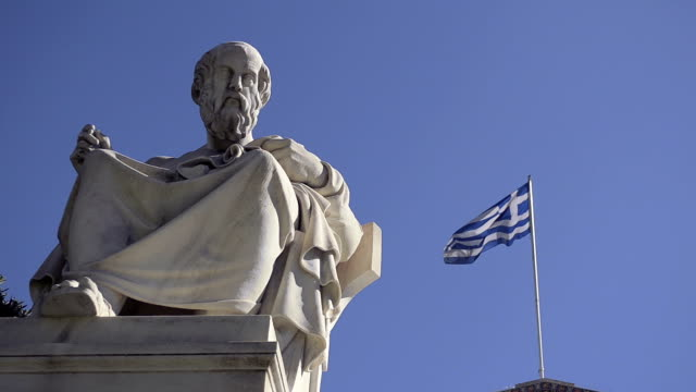 Greek scholar Plato video