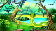 Green Anaconda UHD video
