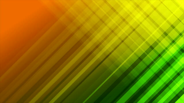 Green and orange diagonal stripes abstract video animation video