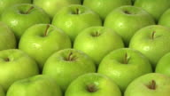 Green apples video