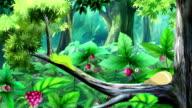 Green Caterpillar UHD video