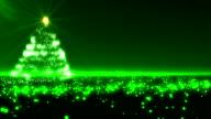 Green Christmas Tree video