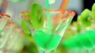 green coctail video