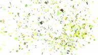 Green Confetti Explosion video