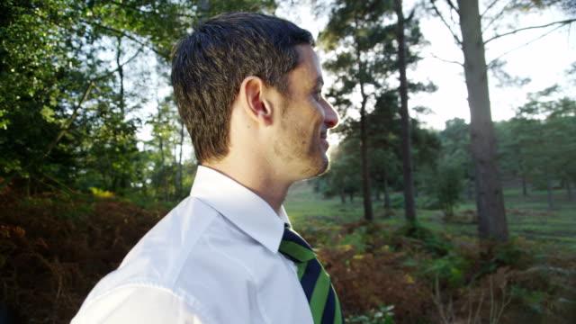 Green environmental business concept video
