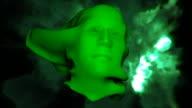 green face HD video