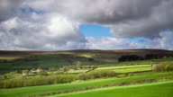 Green Fields and High Moors in West Yorkshire - Time Lapse video