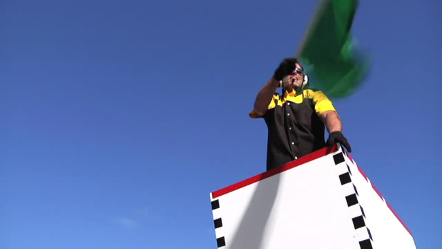 Green Flag Man 1 video