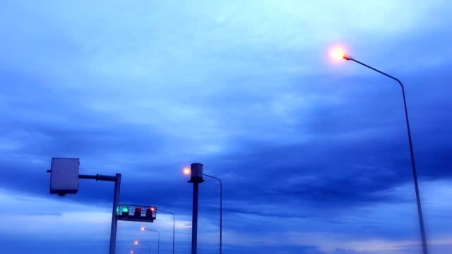 Green Flashing Light video