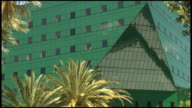 (HD1080) Green Glass Triangle with Small Squares video