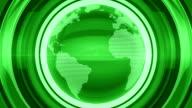 Green Glossy Globe video