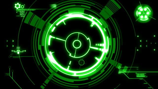 green hud HD video