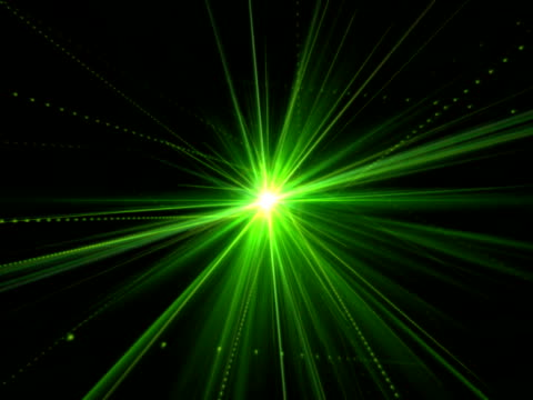 Green Laser NTSC video