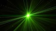 Green Laser video