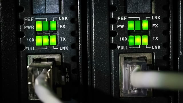 Green Light Of Link Data Communications video