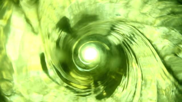 Green Liquid Vortex video