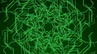 Green Looping Technical Abstract Concept video