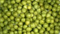 Green peas. video