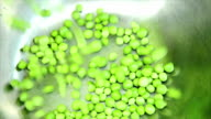 Green peas. video