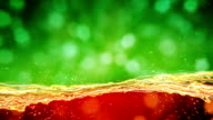 green red lights seamless loop abstract background video