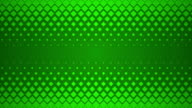 Green Repeating Square Pattern Design Background. video