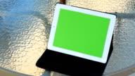 Green screen ipad video