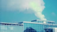 Green smoke back into the building video