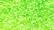 Green Sparkles (Loopable) video