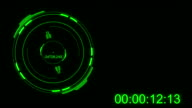 Green Tech Radar Timecode Counting video