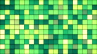 green tiles glass mosaic seamless loop background video