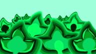 LEAVES : green (LOOP) video
