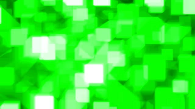ZERO REFLECTION : green (LOOP) video