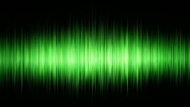 Green waveform video