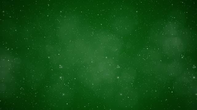 Green Winter Wonderland Background. video
