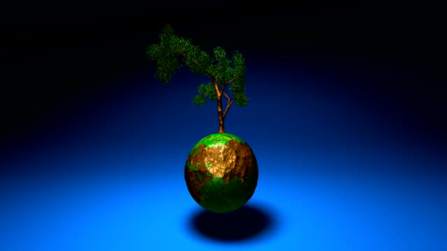 Green world video