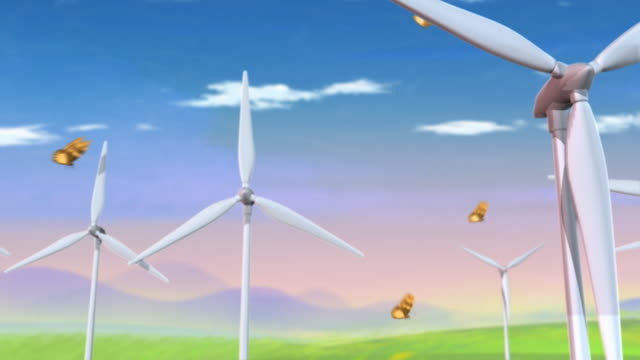 Green&Clean Wind Power video