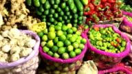 Greengrocer Shop, Nuwara Eliya Central Market, Sri Lanka video