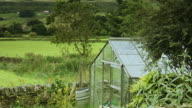 Greenhouse in Country Garden video