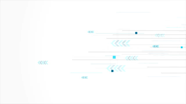 Grey and blue abstract technology video animation video