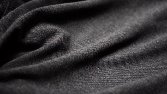 Grey cotton fabric. Use as a background video