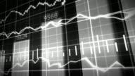 Grey Stock Market Graph and Bar Chart video