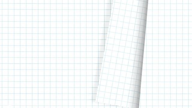 grid paper filp video