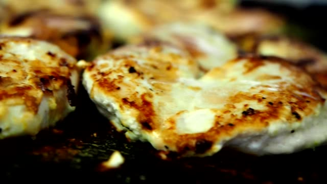 Grilled Chicken In Restaurant video