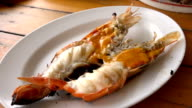 Grilled Giant River Prawn video