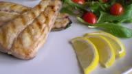 grilled mackerel steak video