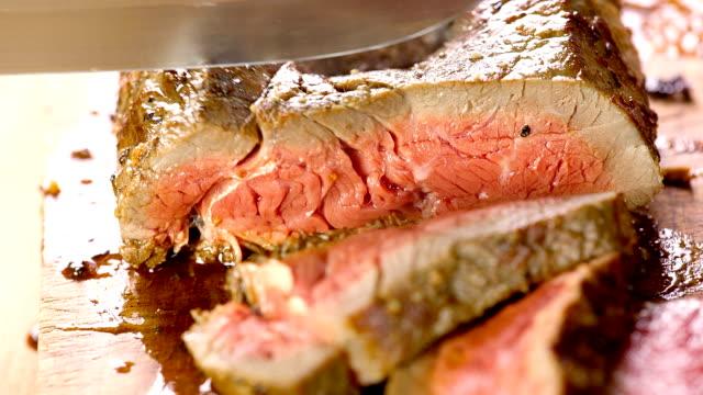 Grilled Steak. video