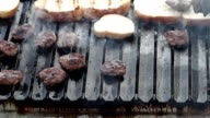 HD: Grilling at barbecue video